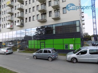 For rent business premises on Legnicka Street