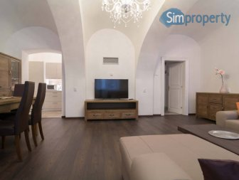 Renovated apartment steps from Prague castle