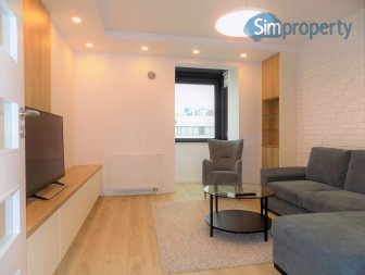 For rent elegant and cosy apartment in the new building Pixel House.