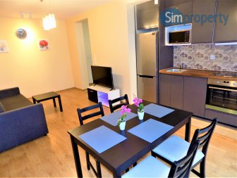 For rent elegant and cosy apartment in the new building Dorzecze Legnickiej.