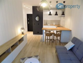 Hercena 7, 1-bedroom apartment in renovated tenement house.