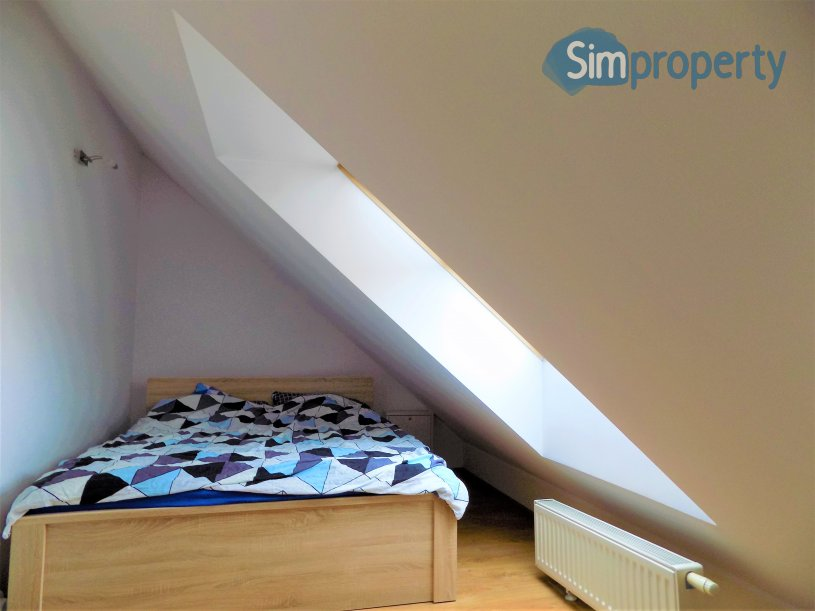 For rent apartment with an entresole on Zielona Pergola in Wrocław!