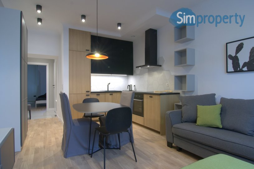 1 bed apartment in heart of Mokotów district