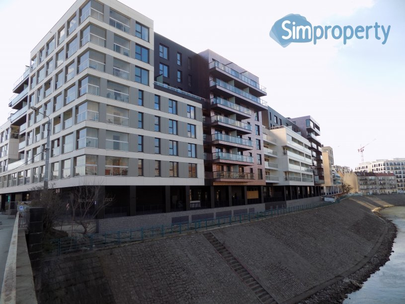 Księcia Witolda Street, new studio apartment with beautiful view.